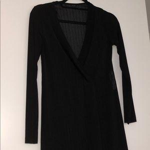 Zara black tunic